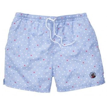 Polka Dot Swim Lt. Blue